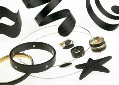 Carbon Fiber Jewelry