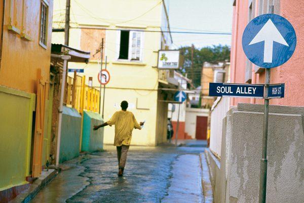 Walking down Soul Alley