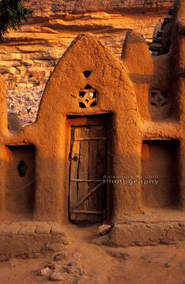 Dogon Village Doorway 1