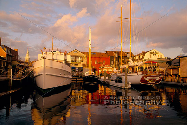 Bowen's wharf in the Newport photos collection