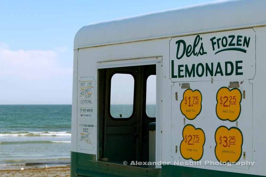 Del's lemonade truck