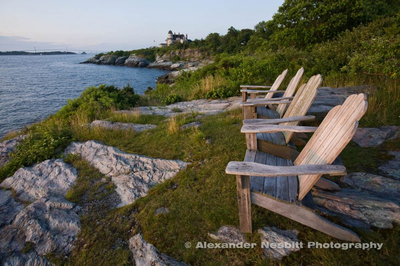 Castle Hill Adirondack chairs