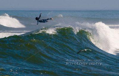 Surfer Takes Flight 1