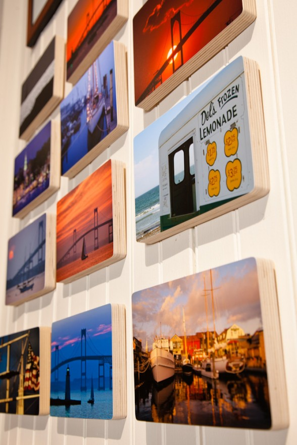 Photo Blocks display