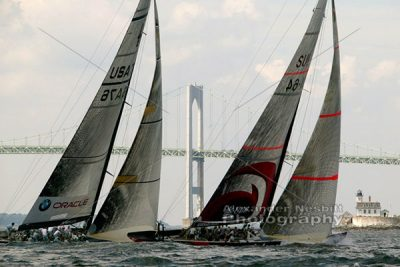 America's cup yachts in Newport 1