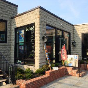 Newport Art Gallery exterior view of Blink Gallery