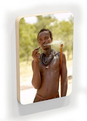 Himba man - photoblock 1