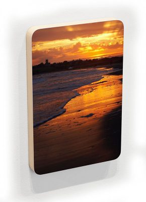 Second Beach Orange Sunset - photoblock 1