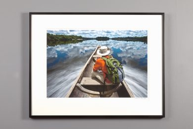 "framed 13x20 of ""Venezuela River Trip"" by Alexander Nesbitt"