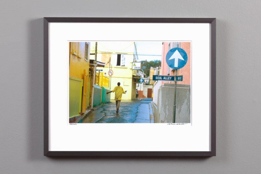 framed 8x10 image - Soul Alley, Antigua