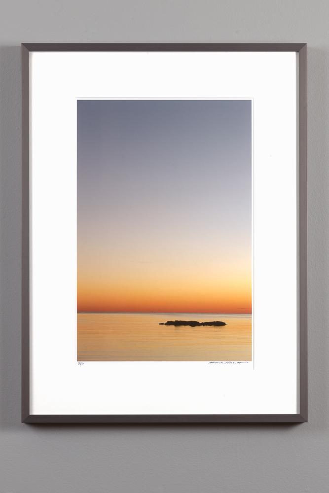 11x14 kings beach image framed