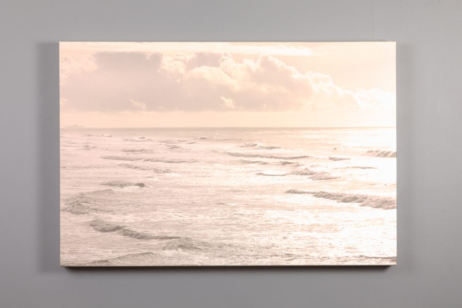 24x36 canvas print of the pacific ocean