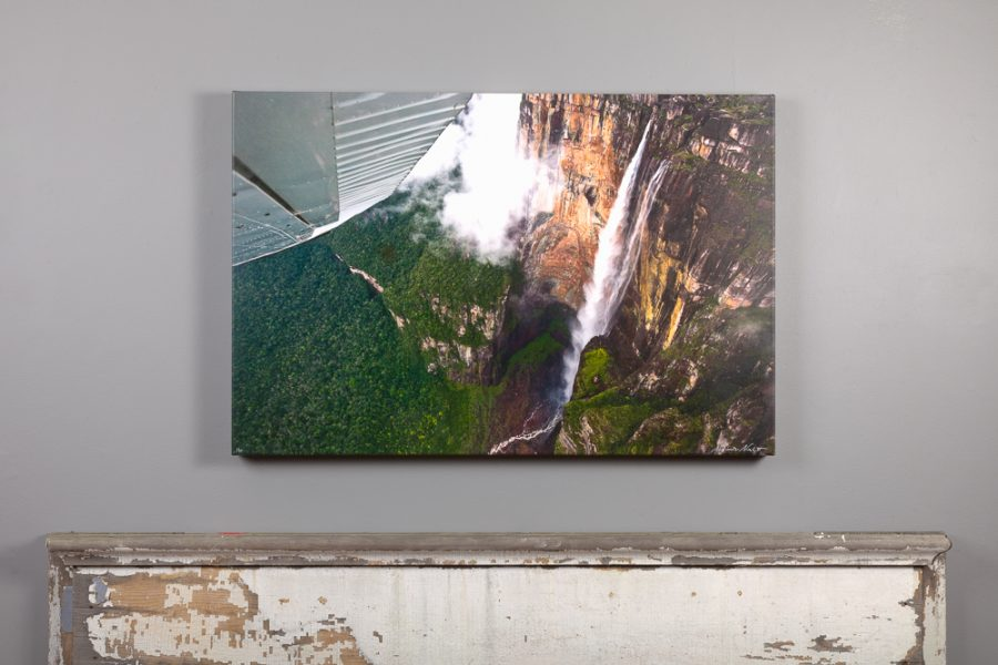 canvas print 24x36 over mantle