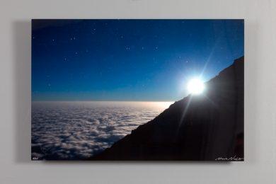moon over mt kilimanjaro, 16x24 dye sublimation print