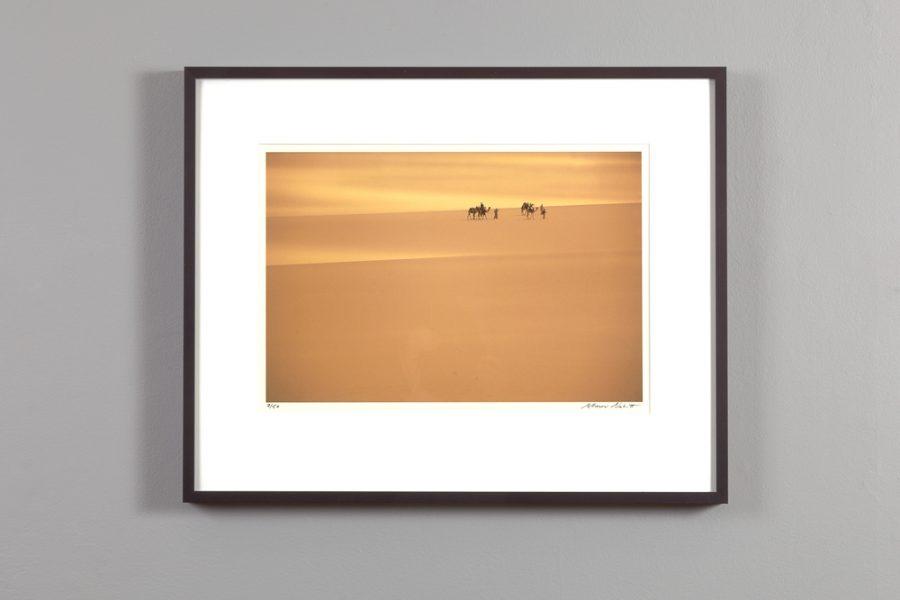 """framed 11x14 of the """"Desert Trek"""" by Alexander Nesbitt"""