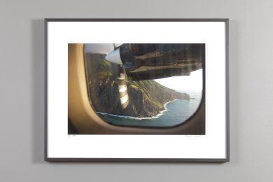 Saba Island by air - photograph by Alexander Nesbitt