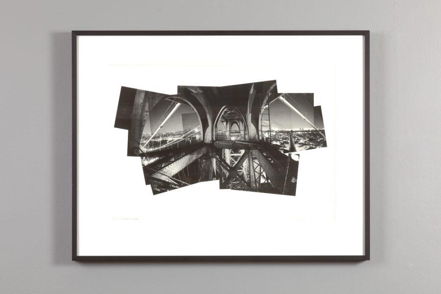 photo collage of the williamsburg bridge