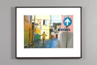 """framed 13x20 photograph of """"Soul Alley"""" by Alexander Nesbitt"""