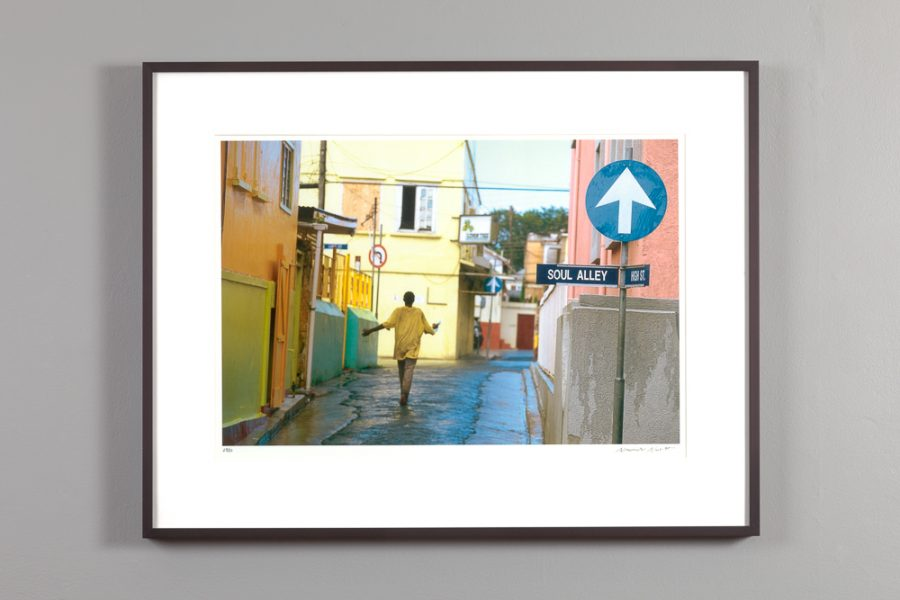 "framed 13x20 photograph of ""Soul Alley"" by Alexander Nesbitt"