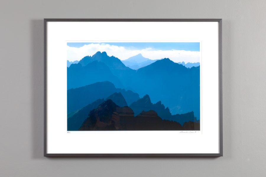 framed image of the high tatra mountains