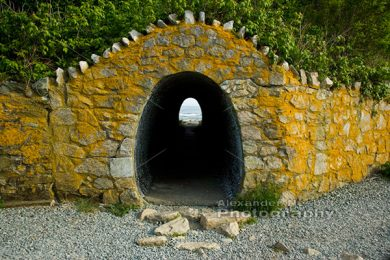 Tunnel on Cliff Walk, Newport RI