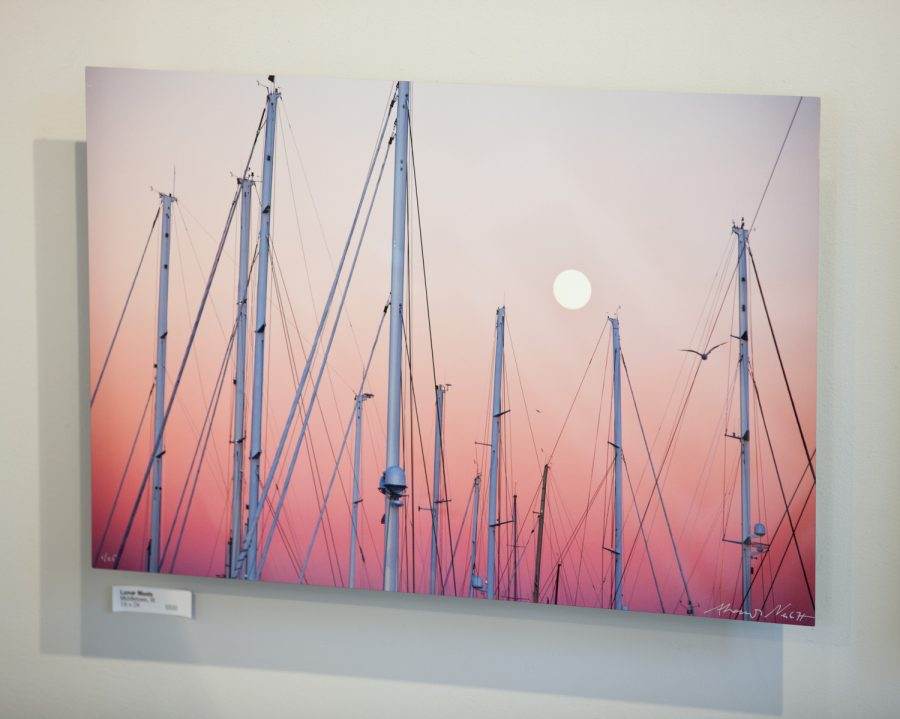 Lunar Masts as a dye sublimation print