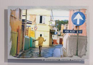 Nesbitt, Soul Alley, handcoated aluminum