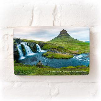 kirkjufell mountian and waterfall iceland