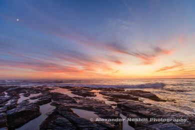 Brenton point sunset photograph
