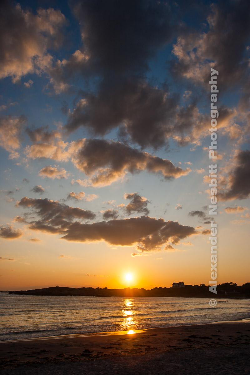 Rejects' Beach Sunset, Newport RI