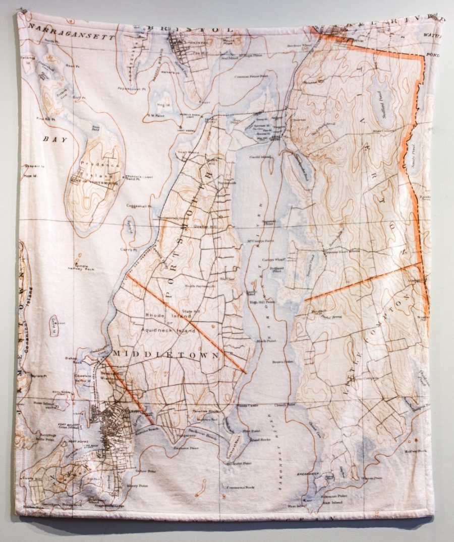 Newport Map Blanket