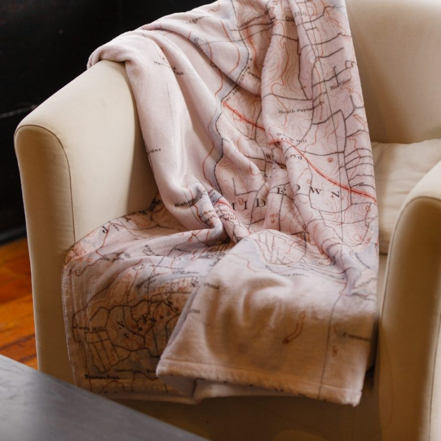 Newport Map Blanket