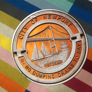 Newport Manhole Cover Doormat