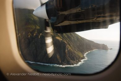 Flying to rugged Saba in the Caribbean is true adventure