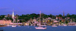 Newport Harbor from Goat Island
