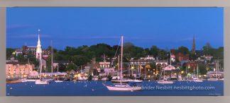 Newport Harbor as viewed from Goat Island, fine art photo by Alexander Nesbitt