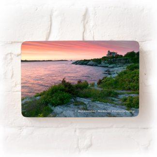 Castle Hill Inn and resort at sunset
