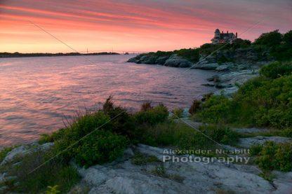 Castle hill Inn and Narragansett Bay