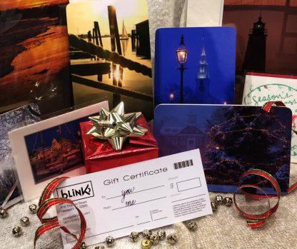 blink gift card - gift certificate